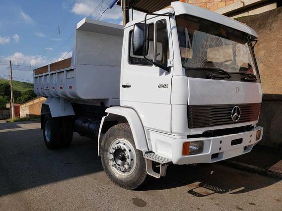 Mercedes-benz 1214 4x2 Ano 1992/1993 Caçamba Reduzido