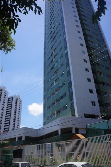 Apartamento Em Torreão, Recife/pe De 64m² 2 Quartos Para Locação R$ 2.200,00/mes - Ap529106