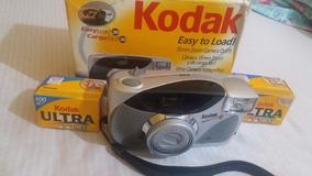 Camera Kodak Easy Load 35 Com 2 Filmes Fechados E Caixa