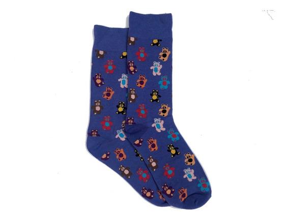 Calcetines Con Diseños Y Colores Divertidos