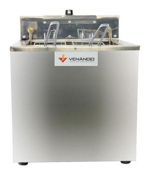 Fritadeira industrial Venâncio SFAO4 prata 220V