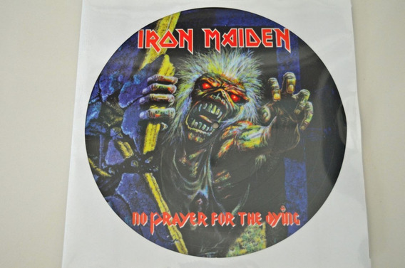 Iron Maiden - No Prayer Ofor The Dying - Picture Disc Lp