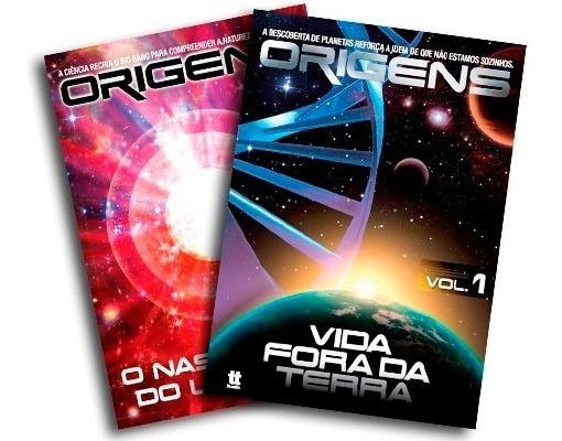 Documentário Origens Universo Vida Fora Da Terra 2 Dvds