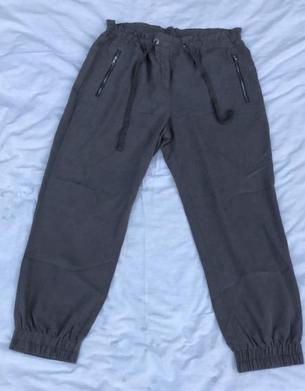 Pantalon Babucha Mujer Armani Exchange Nuevo Gris Talle L