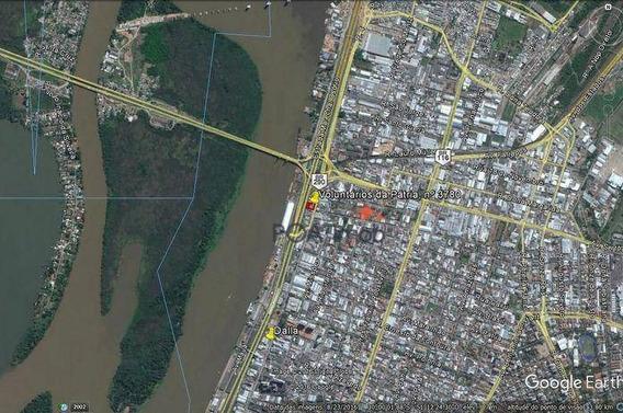 Terreno Comercial Para Locação, Floresta, Porto Alegre. - Te0027