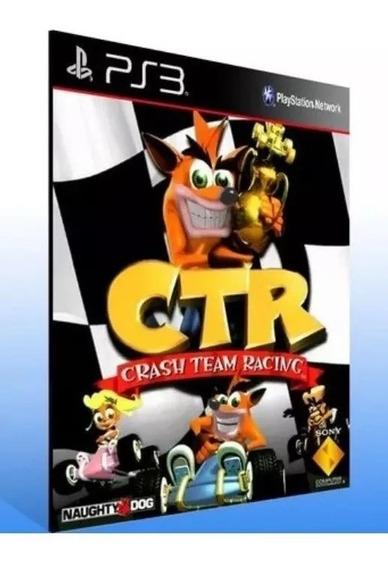 Crash Team Racing Ps3 Psn (psone) Jogo Envio Já Comprar