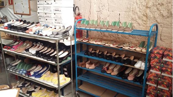Vendo Fábrica De Sapatilhas E Rasteirinhas Femininas