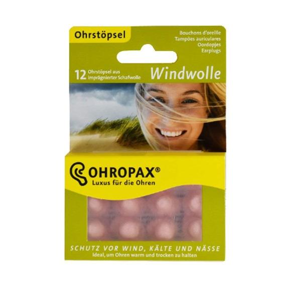 Protetor Auricular Tampão Cera Ohropax Windwolle - 6 Pares