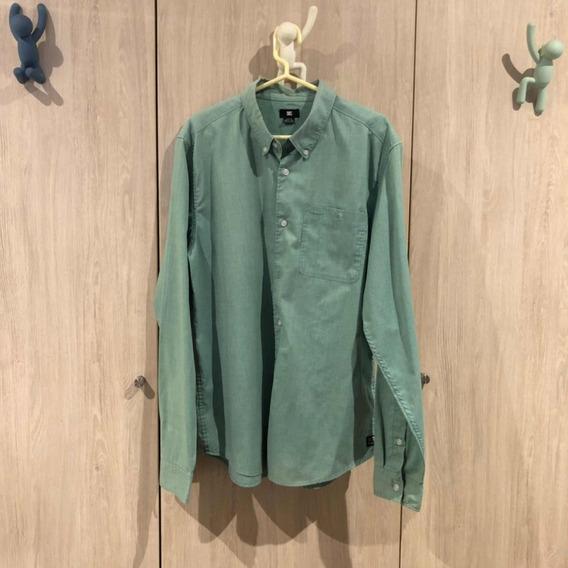 Camisa Dc Talla M / No Volcom Quiksilver Vans Billabong Gap