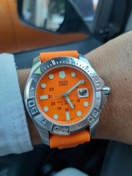 Reloj Victorinox Swiss Army Diver 500 Totalmente Original