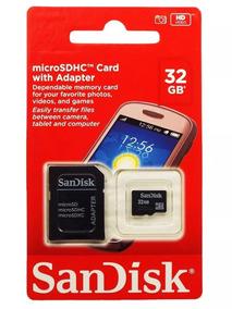 Cartão De Memória Sandisk 32 Gb