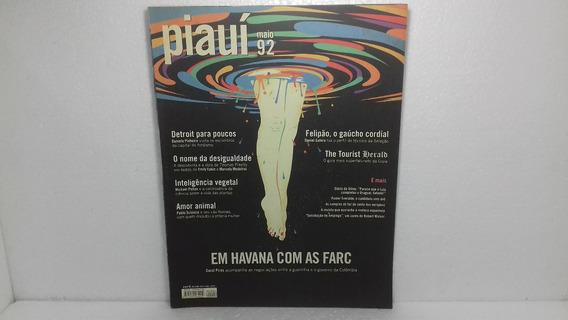 Revista Piauí 92 Em Havana Com As Farc