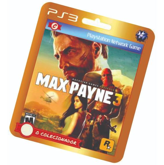 Max Payne 3 Em Pt-br!! Ps3