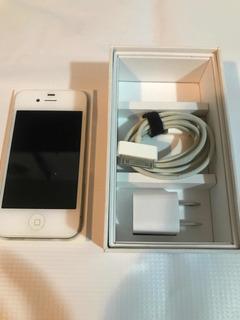 iPhone 4 De 8 Gigas En At&t Con Su Caja Y Cargador