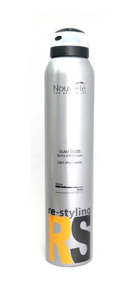 Spray De Brillo Pelo Efecto Light Natural Nouvelle Italia