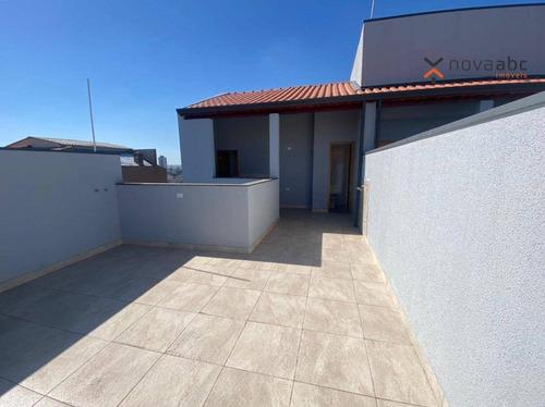 Imagem 1 de 15 de Cobertura Com 2 Dormitórios À Venda, 46 M² Por R$ 320.000,00 - Vila Marina - Santo André/sp - Co1233