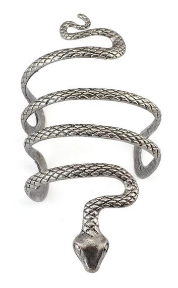 Punho De Bracelete Aberto Em Forma De Cobra Estilo Vintage