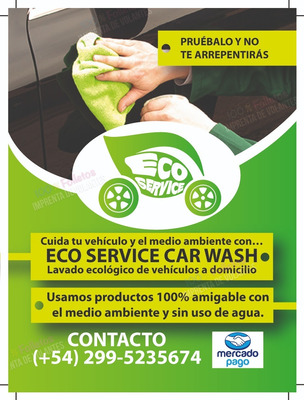 Carwash Lavado De Auto Con Liq Biodegradables