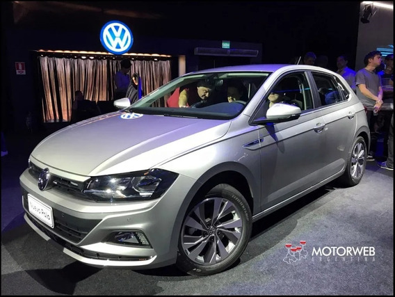 Volkswagen Polo Confort Plus At 2020 Gris Plata Okm