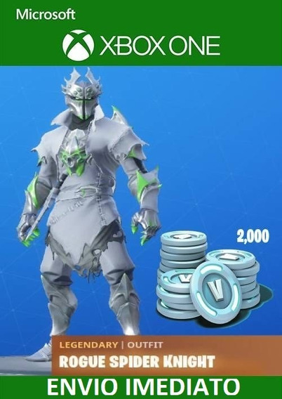 Skin Rogue Spider Knight Fortnite + 2000 Vbucks