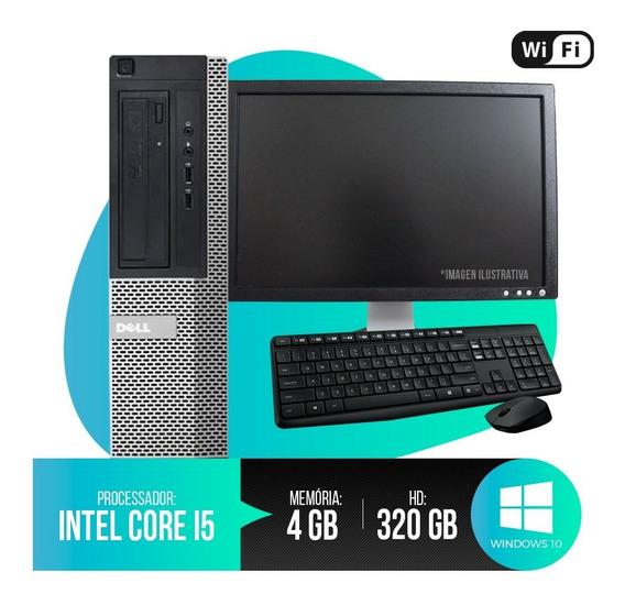 Pc Completo Dell Optiplex Core I5, 4gb Ram Ddr3, Hd 320gb...