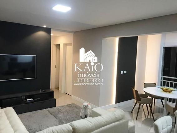 Apartamento Mobiliado De 72m² Com 3 Dormitórios 1 Suite 2 Vagas, Vila Leonor - Ap1205