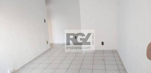 Imagem 1 de 28 de Apartamento Com 2 Dormitórios À Venda, 80 M² Por R$ 299.000,00 - Marapé - Santos/sp - Ap7810