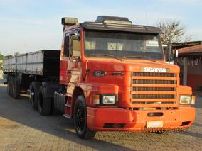 Scania 112 Carreta Carga Seca Guerra Assoalho Chapa Xadrez