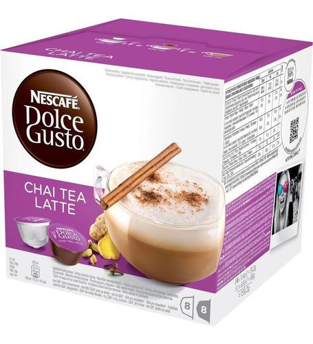 Imagen 1 de 5 de Pack 48 Capsulas Chai Tea Latte Dolce Gusto X2 Envio Gratis!