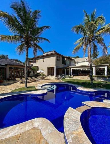 Imagem 1 de 5 de Casa Com 4 Dormitórios À Venda, 970 M² Por R$ 4.600.000,00 - Alphaville 10 - Santana De Parnaíba/sp - Ca3470
