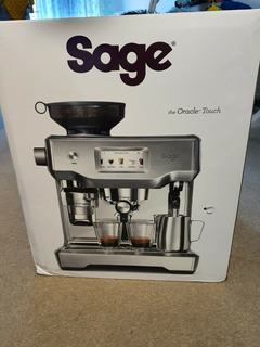 Sage The Oracle Touch Bean To Cup Espresso Coffee Machine Ma