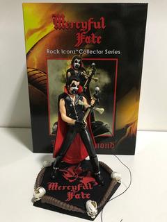 Mercyful Fate Boneco Oficialrock Iconz King Diamond Estatua