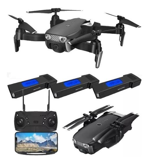 Drone Gps E511s Câmera Full Hd 1080p 3 Baterias 16 Minutos