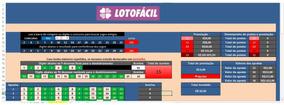 Lotofácil Jogue Fácil Com 15 Dz, 9 Fixas, 30 Jogos