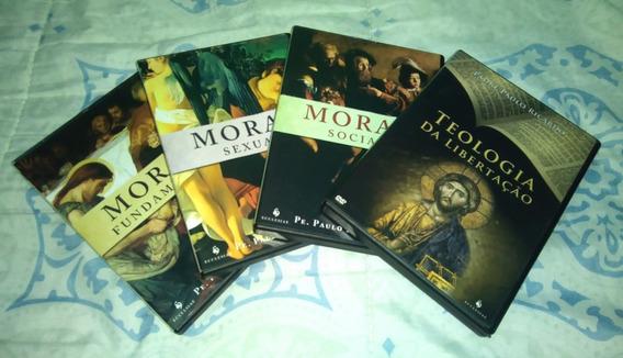 Trilogia Moral + Teol. Da Libertação Padre Paulo Ricardo Dvd