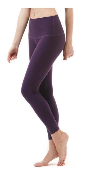 Licras Yoga Pants Corte Alto Marca Tsla