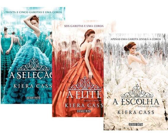 Kit Trilogia A Seleção - Kiera Cass (lacrado) Três Volumes | Mercado Livre