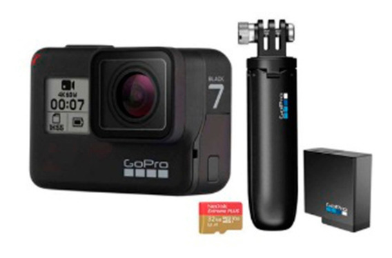 Camera Gopro Hero 7 Black Chdhx-701 Pronta Entrega