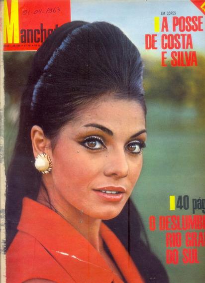 Manchete Nº 780 - 1967 - Especial 40 Páginas Rio Grande Sul