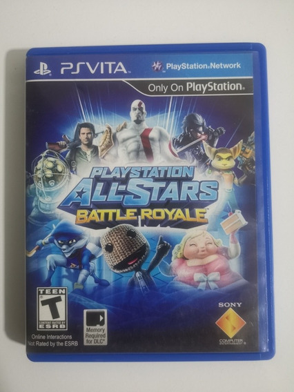 Playstation All Stars Battle Royale Ps Vita Física Dublado