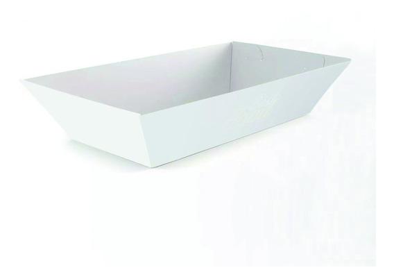 Embalagem Food Truck Bandeja Branco G (600) M (400)