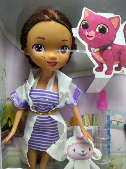 Boneca Doutora Brinquedo Kit Dra Médica + Acessórios