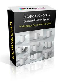Mockups Editáveis Psd Kit Com 9 Visualizações Download