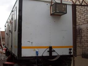 Trailers Habitacional Tren Rodante