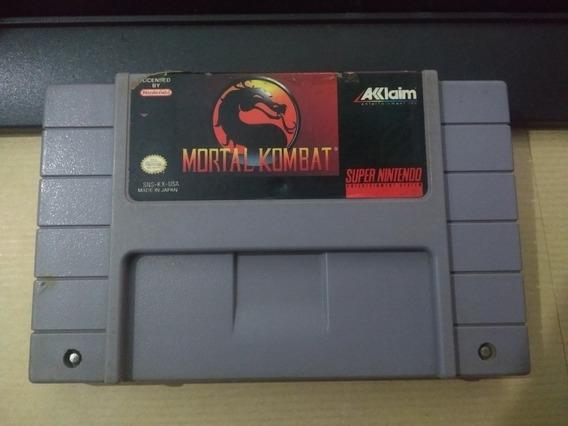 Mortal Kombat Original Para Super Nintendo.