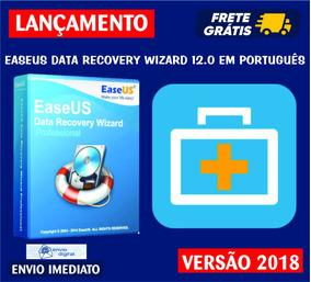 Easeus Data Recovery Wizard 12.0 Em Português / Frete Grátis