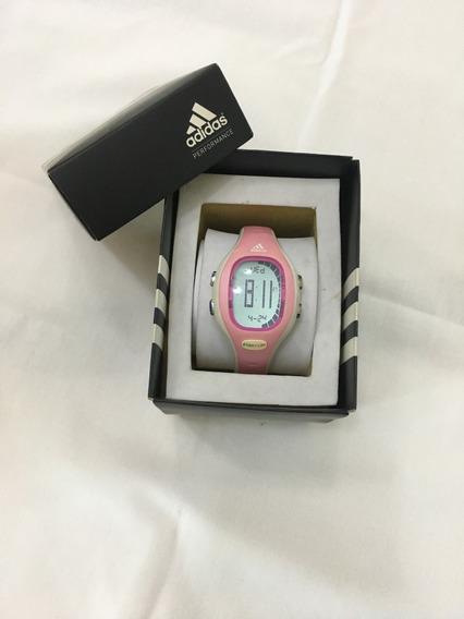 Relógio De Pulso adidas Adp3114 Digital Rosa Feminino Origin