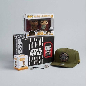 Funko Pop Star Wars Box Smugglers Bounty Han Solo