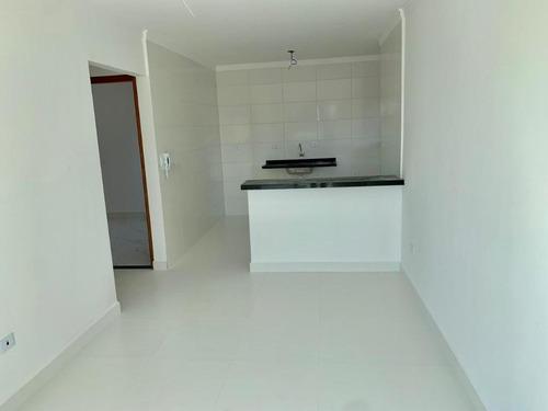 Casa Nova Com 2 Dormitórios À Venda, 51 M² Por R$ 170.000 - Jardim Melvi - Praia Grande/sp - Ca0464