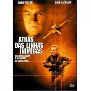 Dvd Atrás Das Linhas Inimigas - Gene Hackman Lacrado